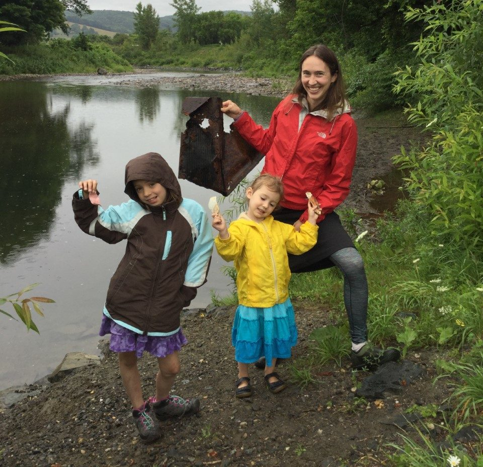 River Clean up with Heather Wolfe