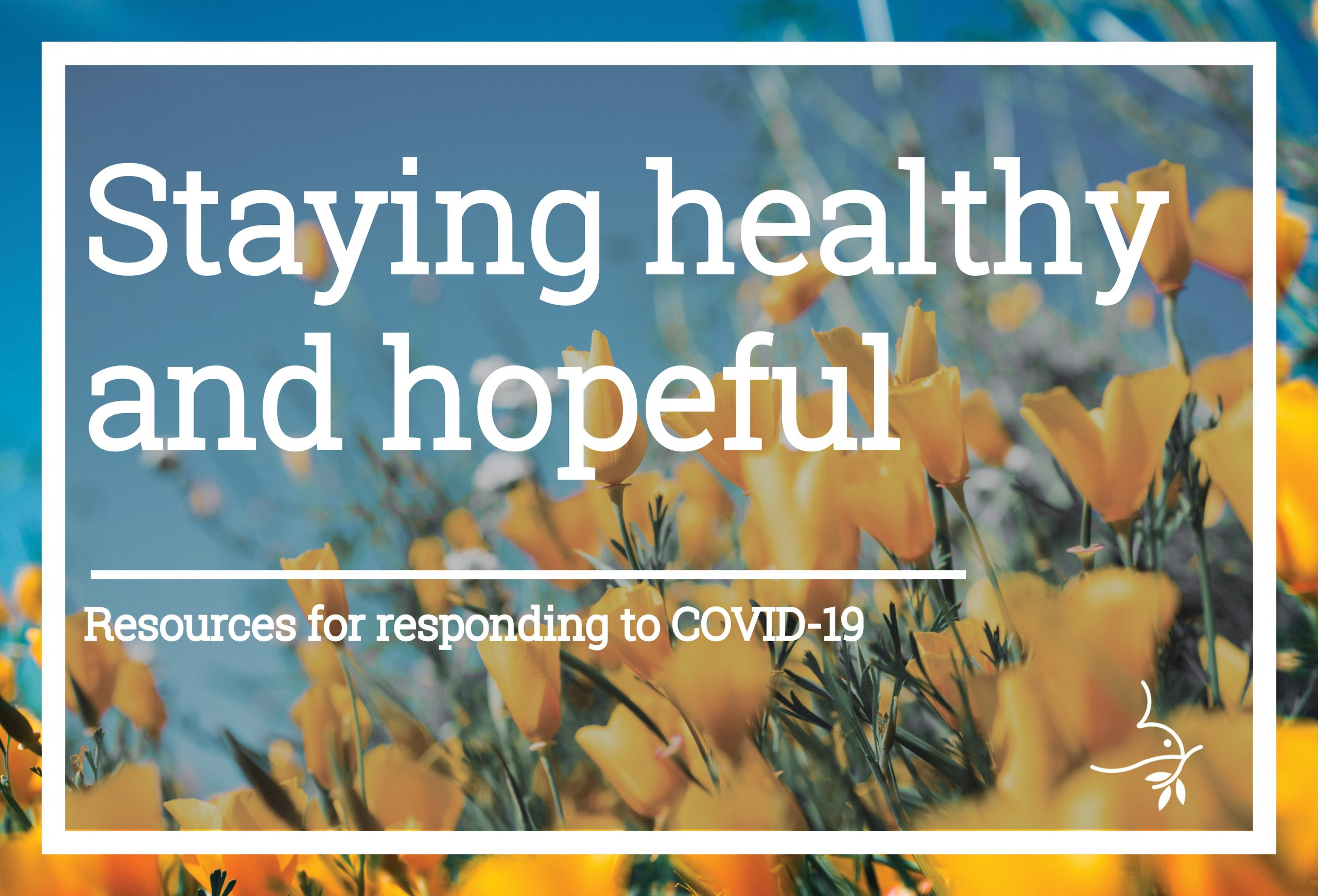 Staying healthy web page