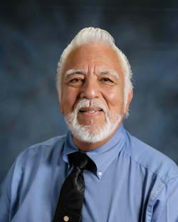 Lupe Aguilar, pastor of Iglesia Menonita Rey de Gloria in Brownsville, Texas.