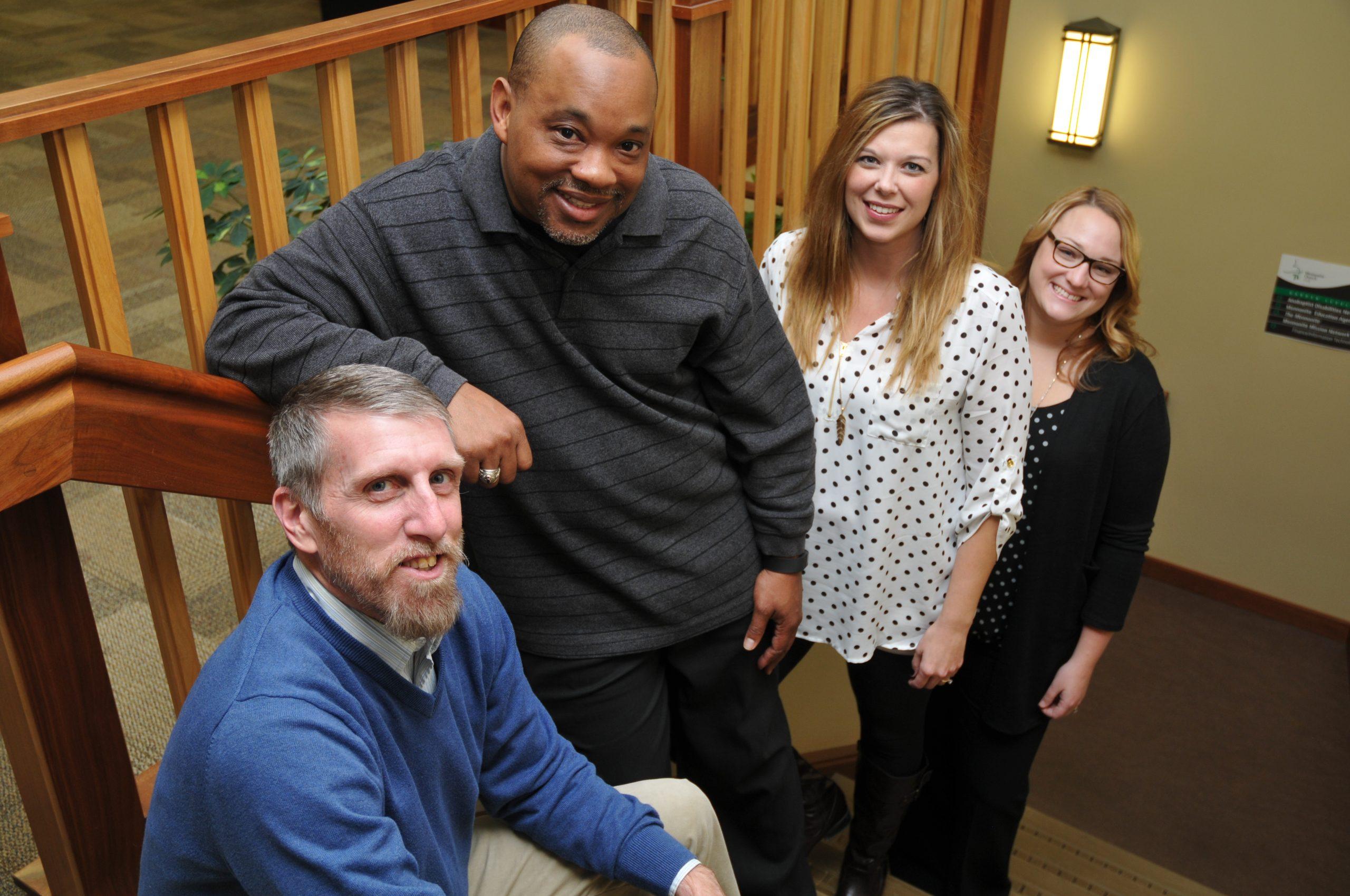 Convention Planning staff (l. to r.): Scott Hartman, Glen Alexander Guyton, Tonya Keim Bartel, Sarah Chase