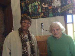 Barbara and Shirley