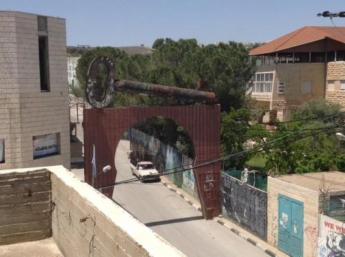 Entrance to Aida Refugee Camp