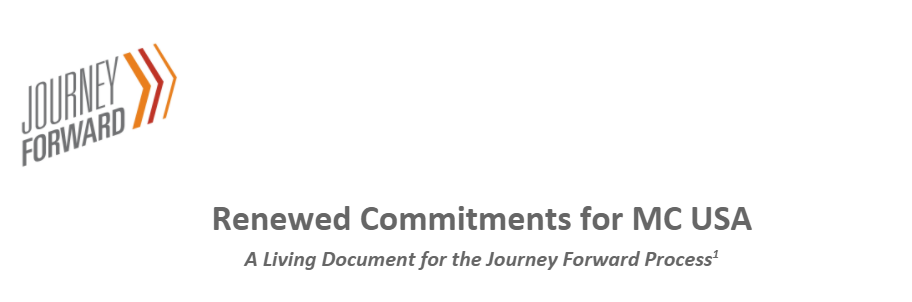 Renewed Commitments for the Journey Forward released