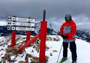 tom brady skiing 2