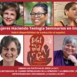 Mujeres en Liderazgo anuncia el lanzamiento de seminarios en línea sobre interseccionalidad y patriarcado