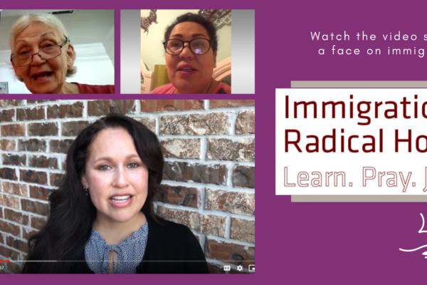 "Mennonite Church USA ""Learn, Pray, Join"" video series puts a face on immigration justice"