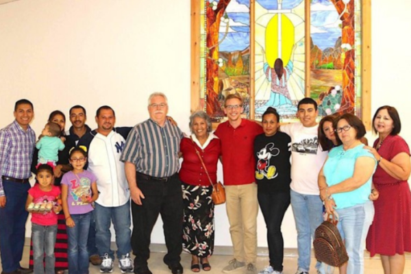 En la Frontera la Iglesia Buenas Nuevas San Juan Texas